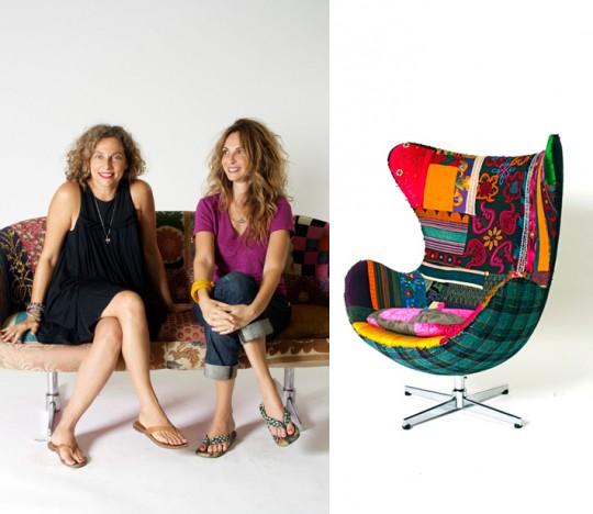 Hoda Baroudi et Maria Hibri - Egg Chair