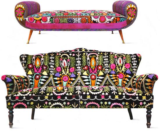 Sofas vintage par Bokja Design