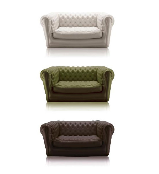 Canap s et fauteuils chesterfield gonflables blofield - Canape gonflable chesterfield ...