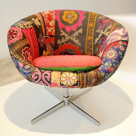 Fauteuil vintage par Bokja Design