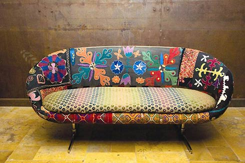 Sofa vintage par Bokja Design