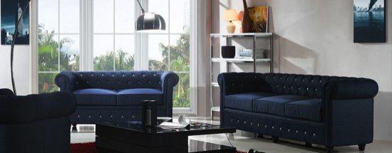 Canapé et fauteuils Chesterfield