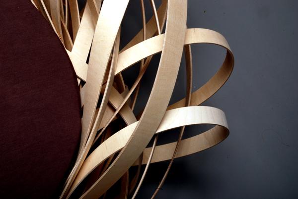 Fauteuil Nest Chair de Nina Bruun - détails