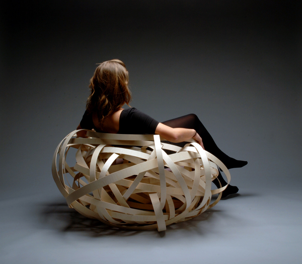 Fauteuil Nest Chair de Nina Bruun