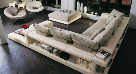 10 canap s design ou de style contemporain for Sofas modulares baratos