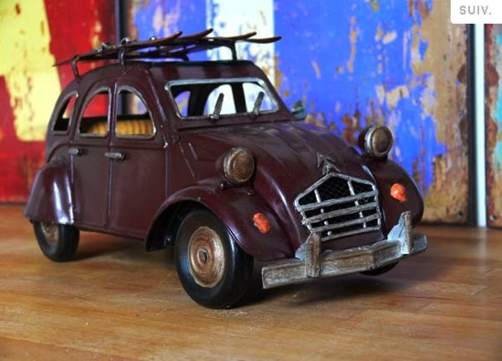 2 CV Citroën minature