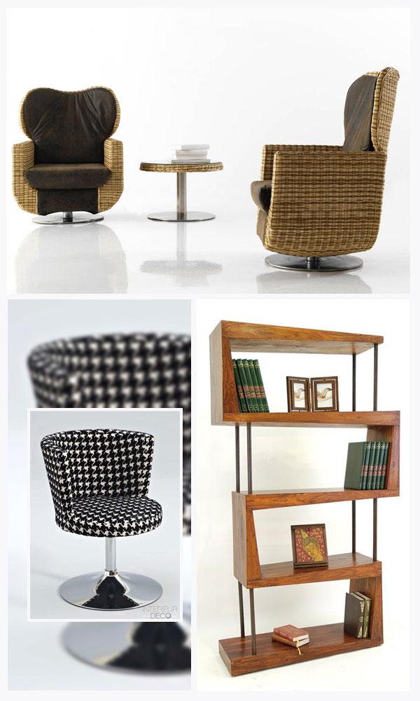 Le mobilier design chez Comin'Design