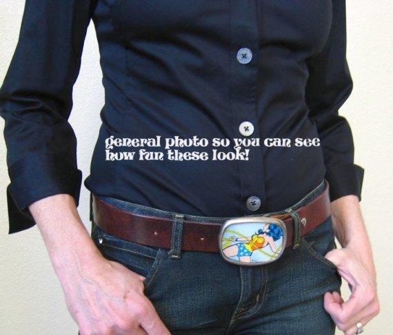 Boucle de ceinture vintage