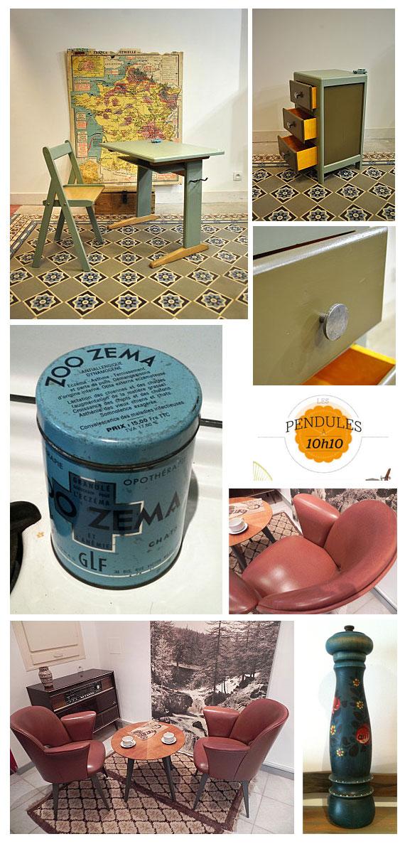 mobilier et objets vintages
