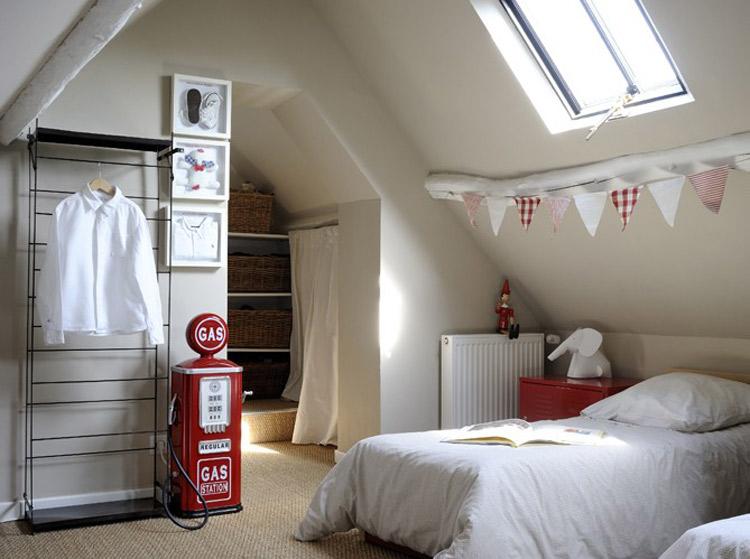 Inspiration ambiances d co pour votre int rieur - Decoration chambre mansardee garcon ...