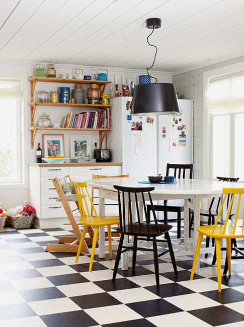 idée décoration pour une salle à manger