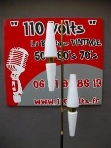 Boutique ambiance vintage 110 Volts