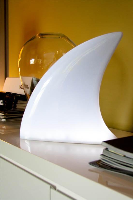 Lampe design Shark