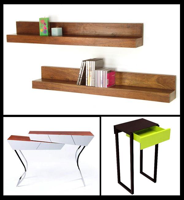 étagères et rangement design