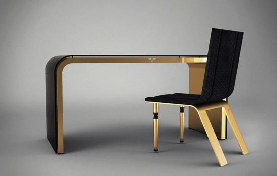 luxe ultime et glamour chic chez ventury paris. Black Bedroom Furniture Sets. Home Design Ideas