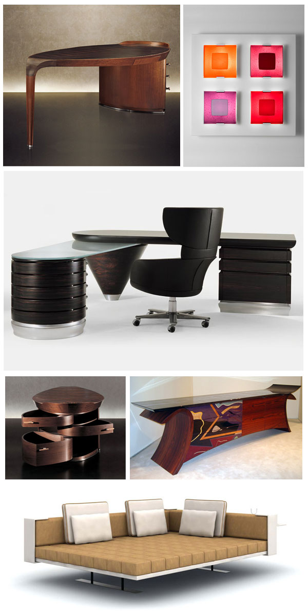 meubles luminaires et art de la table design chez bloch. Black Bedroom Furniture Sets. Home Design Ideas