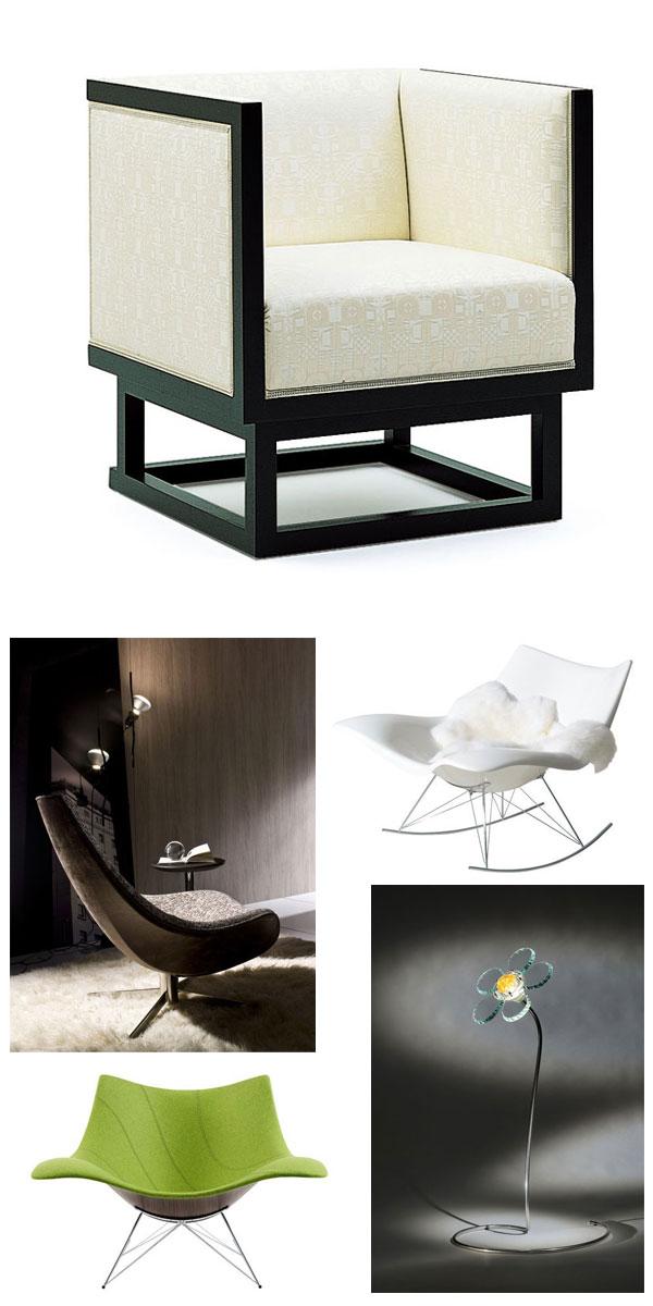meubles et luminaires design chez Bloch Design
