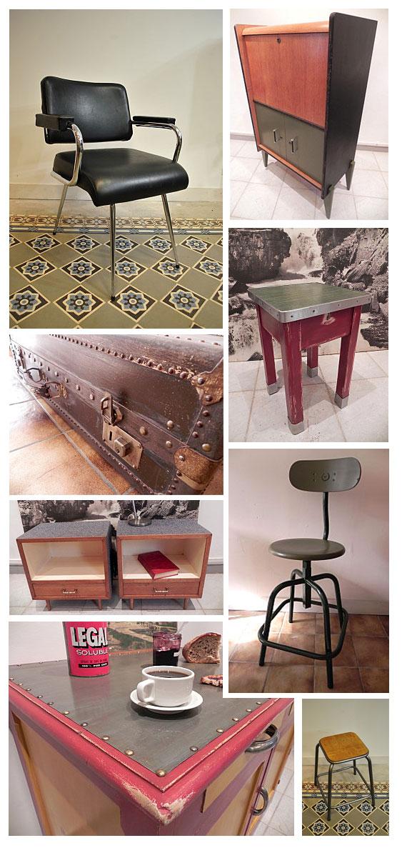 Chaises, fauteuils, mobiler vintage