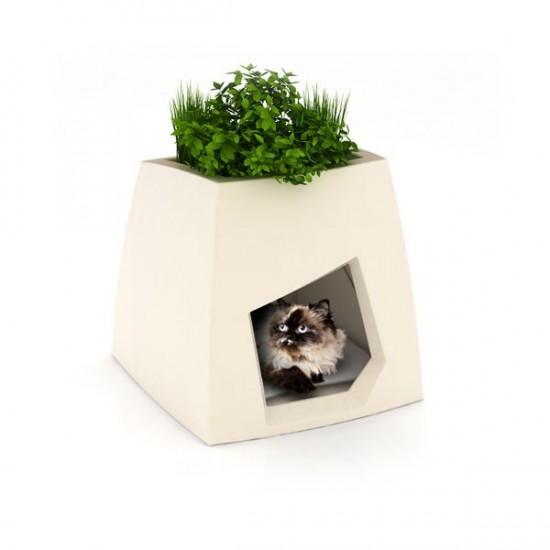 niche de luxe design pour chat