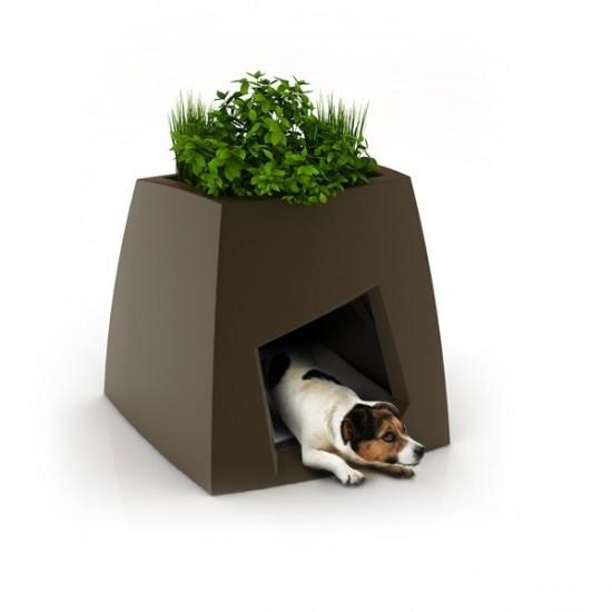 niche de luxe design pour chiens ou chats