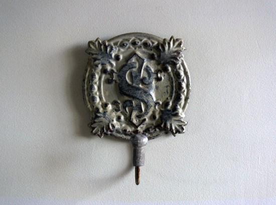 patère métal