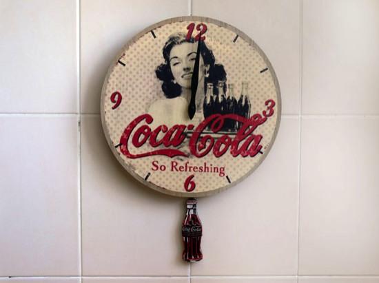 Pendule Coca-Cola