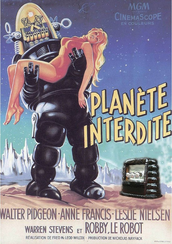Affiche du film Planète Interdite