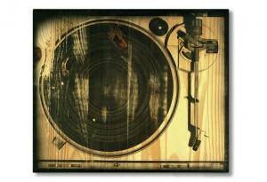 Platine tourne-disques vintage
