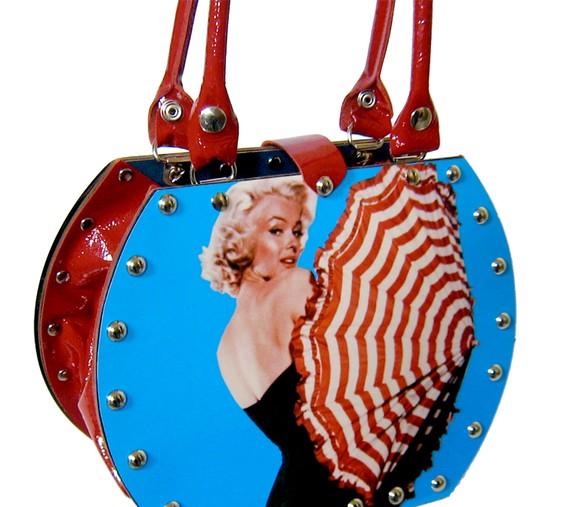 Sac à main fourre-tout vintage Marilyn