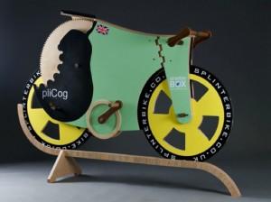 Splinter bike le vélo tout en bois.