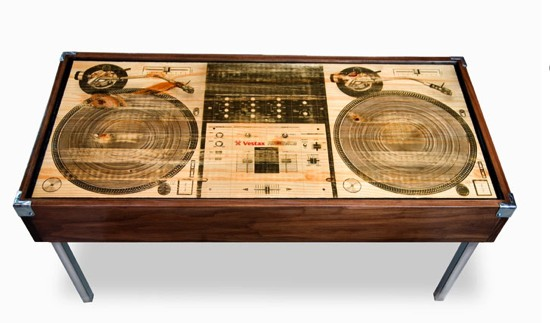table basse dj