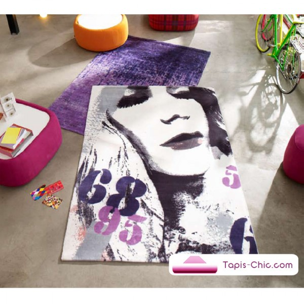 tapis pop art