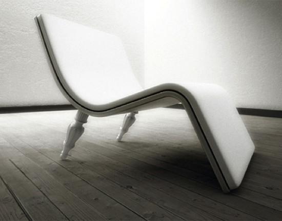 Bureau design Ventury Paris blanc