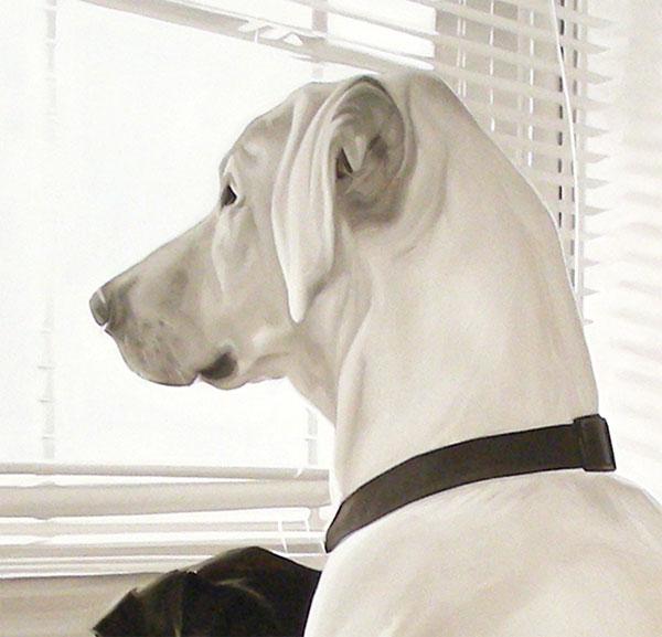 """Détails du tableau """"Dogs"""" de Matteo Mezzetta"""