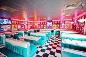 Restaurant vintage Tommy's Diner