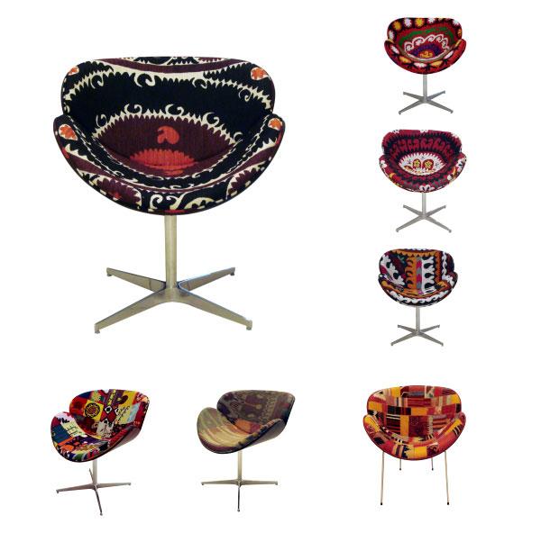 chaises et fauteuils Molly