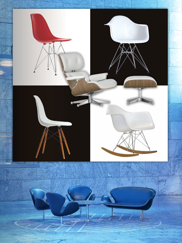 Les standards du design eames jacobsen prouv starck for Prix fauteuil eames vitra