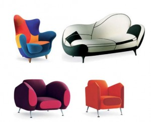 Collection Los Muebles Amorosos par Moroso