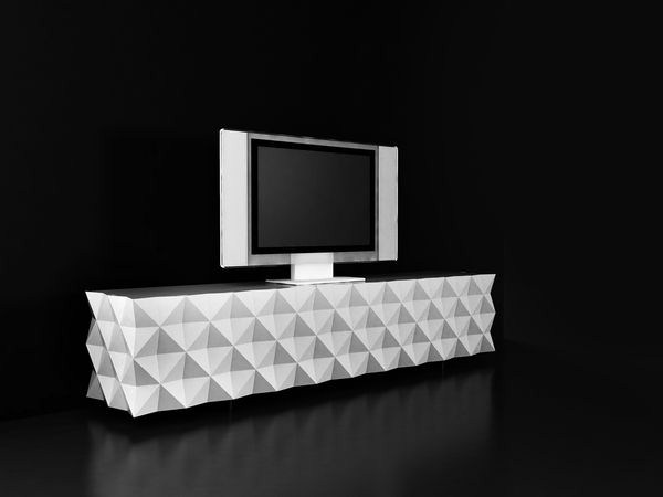 Meuble Tv Vegas Blanc : Collection De Meubles Design Rocky Par Joel Escalona Chez Le