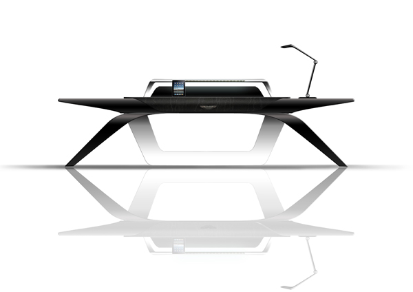Bureau design Aston Martin