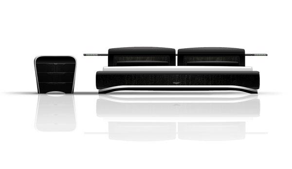 Canapé design Aston Martin