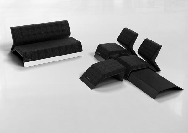 Canapé et fauteuil Aston Martin
