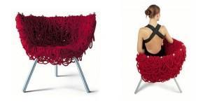 chaise Vermelha par les frères Campana