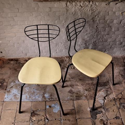 Chaises vintage des années 50
