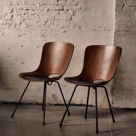 Les tendances d co design vintage le design des ann es 50 - Lederstuhl design ...