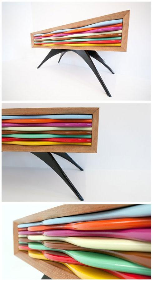 commode design Edan 1 tiroir