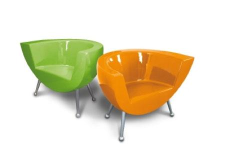 fauteuils vintage ligne claire