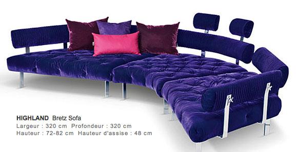 Sofa highland-bretz
