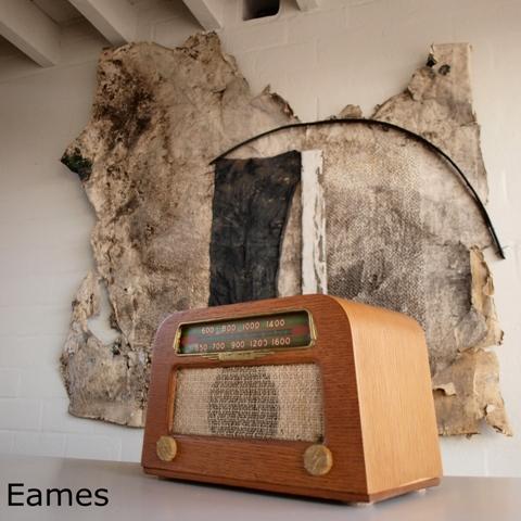 Un poste de radio rare signé Charles et Ray Eames