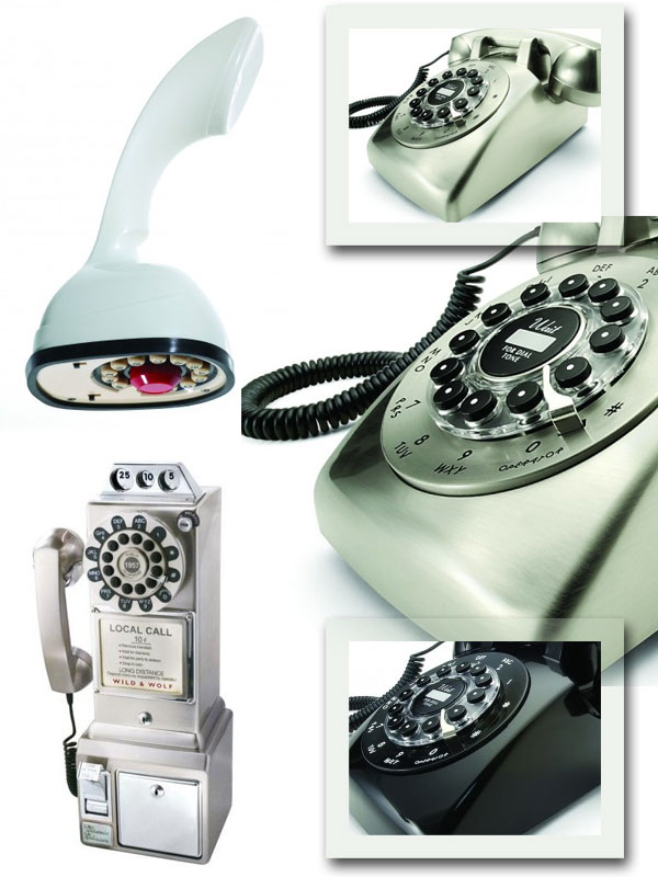 Téléphones fixes vintage